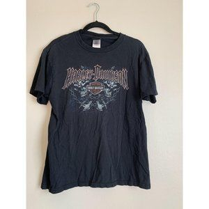 Harley Davidson Motorcycles Skull Graphic T-Shirt
